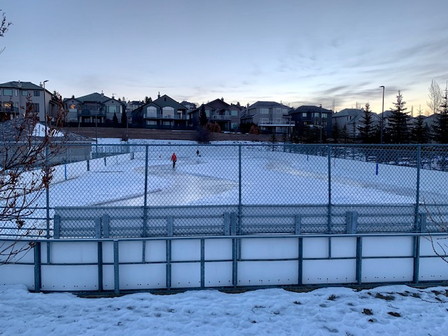 Rink is almost ready for skaters 2021